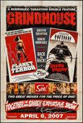 "Movie Posters:Action, Grindhouse (Dimension, 2007). Autographed Mini Poster (13.25"" X19.75"") SS Advance. Action.. ..."