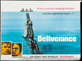 """Movie Posters:Action, Deliverance (Warner Brothers, 1972). Trimmed British Quad (29.5"""" X40""""). Action.. ..."""