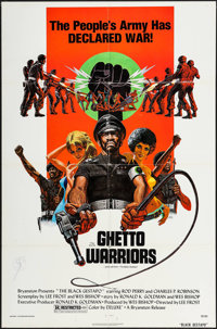 "The Black Gestapo (Bryanston, 1975). One Sheet (27"" X 41""). Blaxploitation. Also known as Ghetto Warriors"