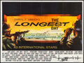"Movie Posters:War, The Longest Day (20th Century Fox, 1962). British Quad (30"" X 40"").War.. ..."