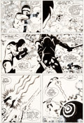 Original Comic Art:Panel Pages, Steve Rude Nexus #33 Story Page 13 Judah Maccabee OriginalArt (First, 1987)....