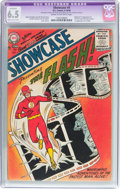 Silver Age (1956-1969):Superhero, Showcase #4 The Flash (DC, 1956) CGC Apparent FN+ 6.5 Moderate/Extensive (A-4) Cream to off-white pages....