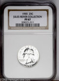 Proof Washington Quarters: , 1955 25C PR67 NGC....