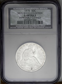 1878 50C --Improperly Cleaned--NCS. Good Details....(PCGS# 6358)