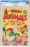 Golden Age (1938-1955):Funny Animal, Funny Animals #72 Crowley Copy Pedigree (Fawcett Publications,1951) CGC NM 9.4 Off-white pages....