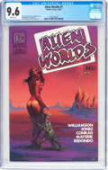 Modern Age (1980-Present):Science Fiction, Alien Worlds #1 (Pacific Comics/Eclipse, 1982) CGC NM+ 9.6 Whitepages....