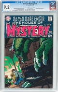 Silver Age (1956-1969):Horror, House of Mystery #180 (DC, 1969) CGC NM- 9.2 Off-white to whitepages....