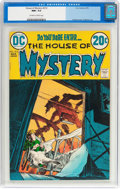 Bronze Age (1970-1979):Horror, House of Mystery #212 (DC, 1973) CGC NM+ 9.6 Off-white to whitepages....
