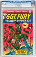 Bronze Age (1970-1979):War, Sgt. Fury and His Howling Commandos #109 (Marvel, 1973) CGC NM 9.4 Off-white to white pages....