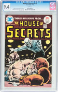 Bronze Age (1970-1979):Horror, House of Secrets #132 (DC, 1975) CGC NM 9.4 White pages....