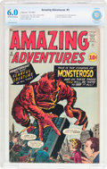 Silver Age (1956-1969):Horror, Amazing Adventures #5 (Marvel, 1961) CBCS FN 6.0 Off-white to whitepages....
