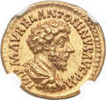 Ancients:Roman Imperial, Ancients: Marcus Aurelius (AD 161-180). AV aureus (20mm, 7.28 gm, 11h)....