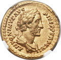Ancients:Roman Imperial, Ancients: Antoninus Pius (AD 138-161). AV aureus (20mm, 7.25 gm,6h). ...
