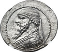 Ancients:Oriental, Ancients: PARTHIAN KINGDOM. Mithradates II (121-91 BC). AR tetradrachm (34mm, 16.39 gm, 1h)....