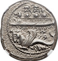 Ancients:Greek, Ancients: PHOENICIA. Byblus. Ozbaal or Azbaal (ca. 400-340 BC). ARshekel (26mm, 13.28 gm, 6h)....
