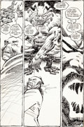Original Comic Art:Panel Pages, Frank Miller Ronin #1 Story Page 8 Original Art (DC,1983)....