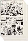 Original Comic Art:Panel Pages, Jimmy Janes and John Calnan Legion of Super-Heroes #271Partial Story Pages 15-25 Original Art Group of 11 (DC, 19...(Total: 11 Original Art)