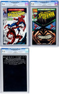 Modern Age (1980-Present):Superhero, The Amazing Spider-Man #361, 427, and V2#36 CGC-Graded Group(Marvel, 1992-2001) CGC NM+ 9.6 White pages.... (Total: 3 ComicBooks)