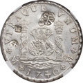 Mexico, Mexico: Philip V 8 Reales 1740/36 Mo-MF AU Details (Chopmarked,Cleaned) NGC,...