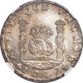 Mexico, Mexico: Philip V 8 Reales 1747 Mo-MF AU Details (Surface Hairlines)NGC,...