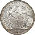 Switzerland, Switzerland: Confederation Lausanne Shooting Festival 5 Francs 1876 MS64 NGC,...