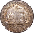 German States:Solms  - Laubach, German States: Solms-Laubach. Christian August Taler 1754-IMF MS64+NGC,...