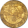 Great Britain, Great Britain: Mary (Sole Rule, 1553-1554) gold Ryal 1553 AU55PCGS,...