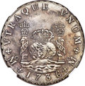 Mexico, Mexico: Philip V 8 Reales 1736/5 Mo-MF AU Details (SurfaceHairlines) NGC,...
