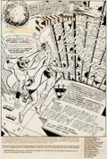 Original Comic Art:Splash Pages, Curt Swan and Tex Blaisdell Action Comics #472 SupermanSplash Page 1 Original Art (DC, 1977)....