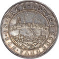 Switzerland: Basel. City Medallic 2 Taler (c. 1710) AU58 PCGS