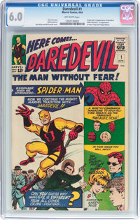 Daredevil #1 (Marvel, 1964) CGC FN 6.0 Off-white pages