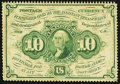 Fractional Currency:First Issue, Fr. 1241 10¢ First Issue Very Fine.. ...