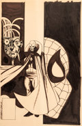 Original Comic Art:Covers, Ed Hannigan and John Byrne Marvel Team-Up #129 CoverOriginal Art (Marvel, 1983)....