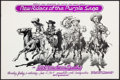 "Movie Posters:Rock and Roll, New Riders of the Purple Sage at the Armadillo World Headquarters(AWH, 1975). Concert Poster (11.5"" X 17.5""). Rock and Roll..."