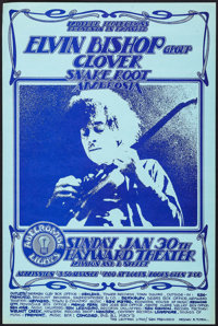 The Elvin Bishop Group, Clover, Snake Root, and Ambrosia at the Hayward Theater (Mother Productions, 1972). Concert Post...