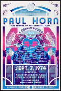 Movie Posters:Rock and Roll, A Cosmic Boogie featuring Paul Horn and Friends of his CelestialFlute at the Scottish Rite Auditorium (Liberty Tickets, 1974)...