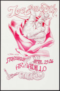 "Movie Posters:Rock and Roll, Too Smooth with Stoneground at the Armadillo WorldHeadquarters(AWH, 1975). Concert Poster (11.5"" X 17.5""). Rock andRoll.. ..."