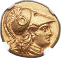 Ancients:Greek, Ancients: MACEDONIAN KINGDOM. Alexander III the Great (336-323 BC). AV stater (18mm, 8.55 gm, 3h)....
