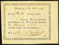 Canadian Currency: , Canada Montreal 15 Sols 1.5.1796.. ...