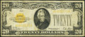 Small Size:Gold Certificates, Fr. 2402 $20 1928 Gold Certificate. Very Good-Fine.. ...