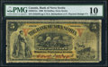 Canadian Currency: , Halifax, NS- Bank of Nova Scotia $5 Sept. 1, 1908 Ch. # 550-28-12a....