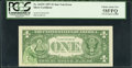 Error Notes:Ink Smears, Fr. 1619* $1 1957 Silver Certificate Star. PCGS Choice About New58PPQ.. ...