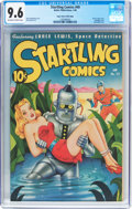 Golden Age (1938-1955):Adventure, Startling Comics #49 Mile High Pedigree (Better Publications, 1948) CGC NM+ 9.6 Off-white to white pages....