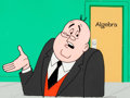 Animation Art:Production Cel, The Archie Show Mr. Weatherbee Production Cel and Background(Filmation, 1968-77)....