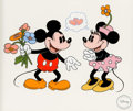 Animation Art:Seriograph, Mickey Mouse Fine Art Sericel Group of 2 (Walt Disney, 1994-95).... (Total: 2 Items)