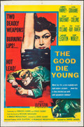 "Movie Posters:Crime, The Good Die Young (United Artists, 1955). One Sheet (27"" X 41"")& Lobby Cards (3) (11"" X 14""). Crime.. ... (Total: 4 Items)"