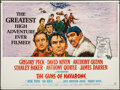 "Movie Posters:War, The Guns of Navarone (Columbia, 1961). British Quad (30"" X 40"").War.. ..."