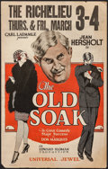 "Movie Posters, The Old Soak (Universal, 1926). Window Card (14"" X 22"").. ..."
