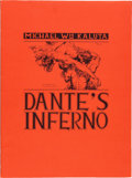 Memorabilia:Comic-Related, Michael W. Kaluta Dante's Inferno Limited Edition Portfolio#1814/2000 (Christopher Enterprises, 1975)....