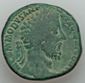 Ancients:Roman Imperial, Ancients: Commodus (AD 177-192). Orichalcum sestertius (23.25 gm)....